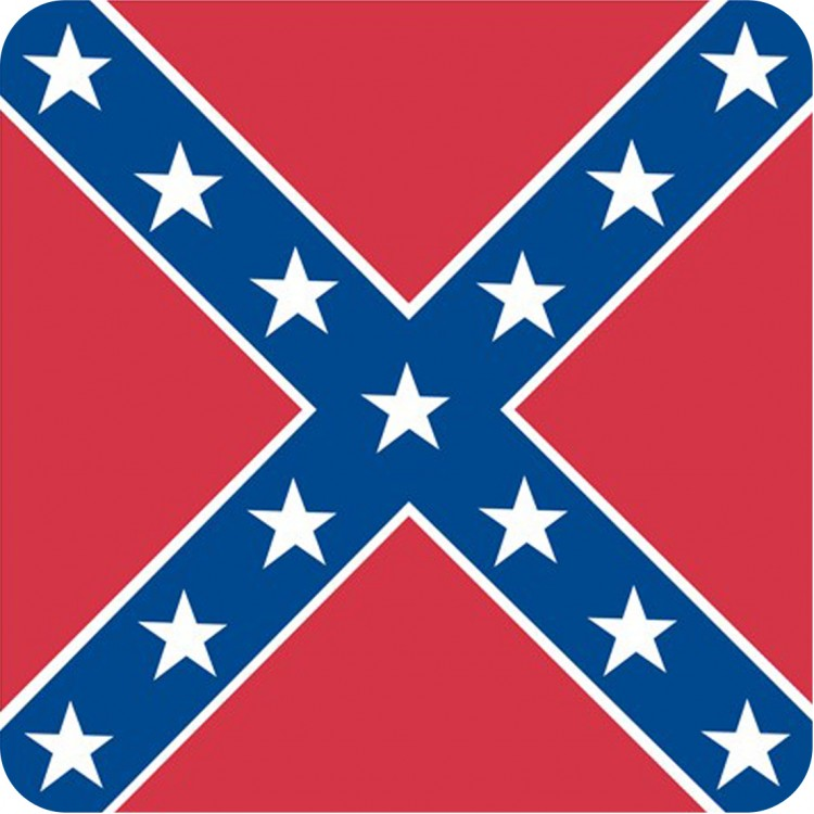 square flage of the confederacy
