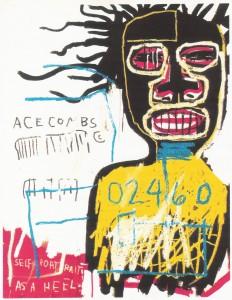 Jean-Michel Basquiat (1960-1988) Self Portrait as a Heel - Current Valuation, $5,906,500.