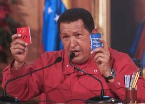 Presidente Chávez agradeció al país por participar democráticame