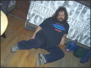 Fat Billy Enjoys a Kip
