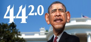Barack Obama by DonkeyHotey http://donkeyhotey.wordpress.com/